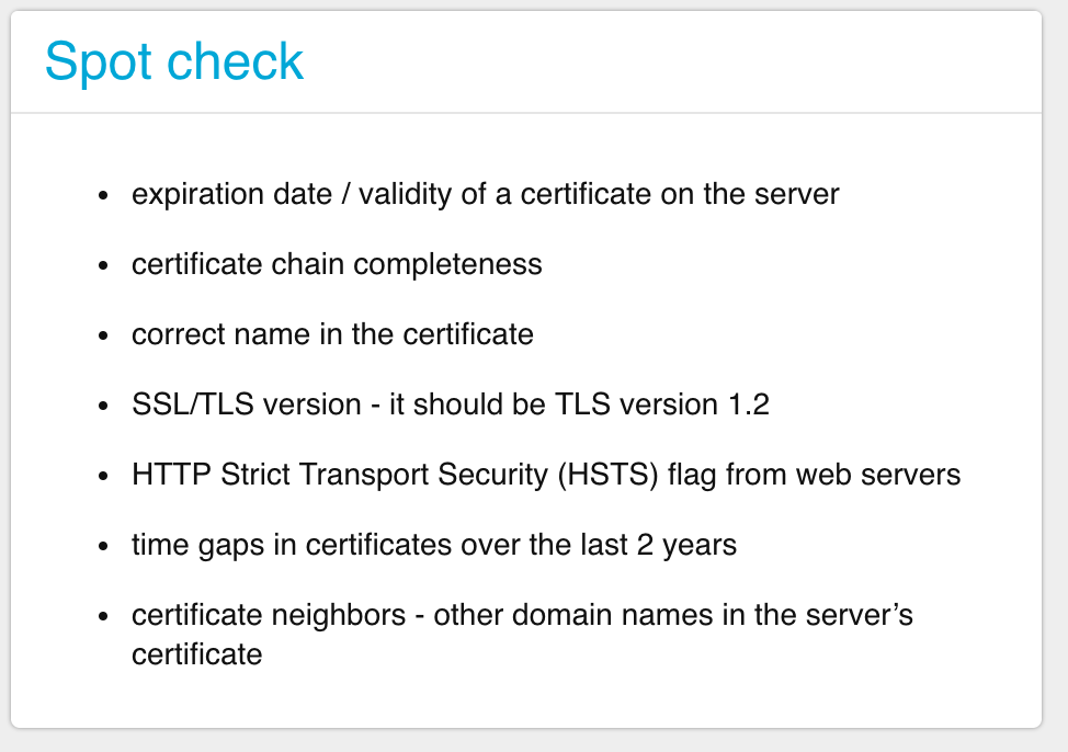 Ssl Certificates 7 Free Spot Checks In One Go Keychest Magic